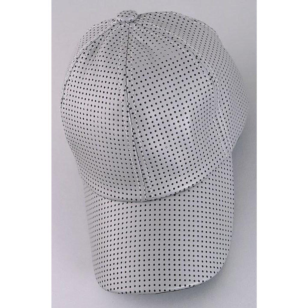 Perforated Leather Cap , hats, - Closet Envy Boutique, women's fashion