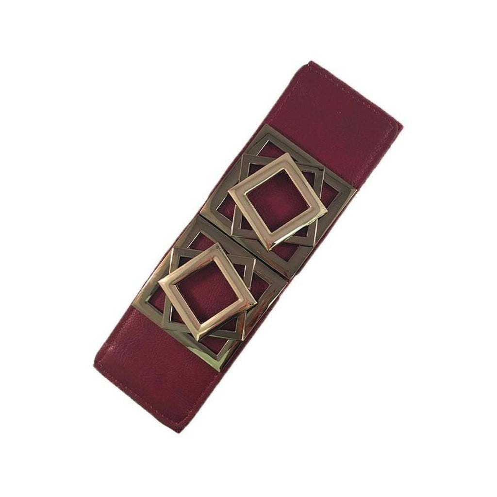 Squares Buckle Belt , belts, - Closet Envy Boutique, women's fashion
