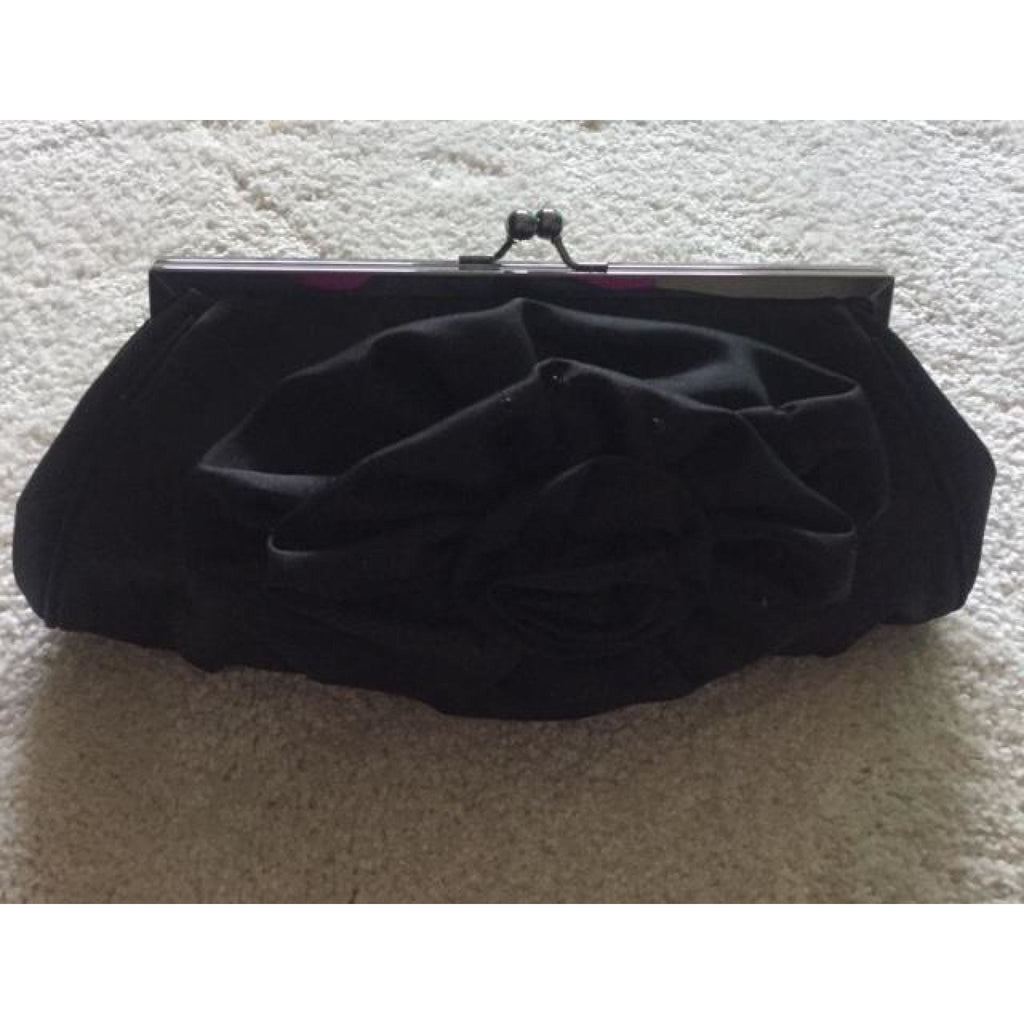 Satin Flower Clutch , clutch, - Closet Envy Boutique, women's fashion