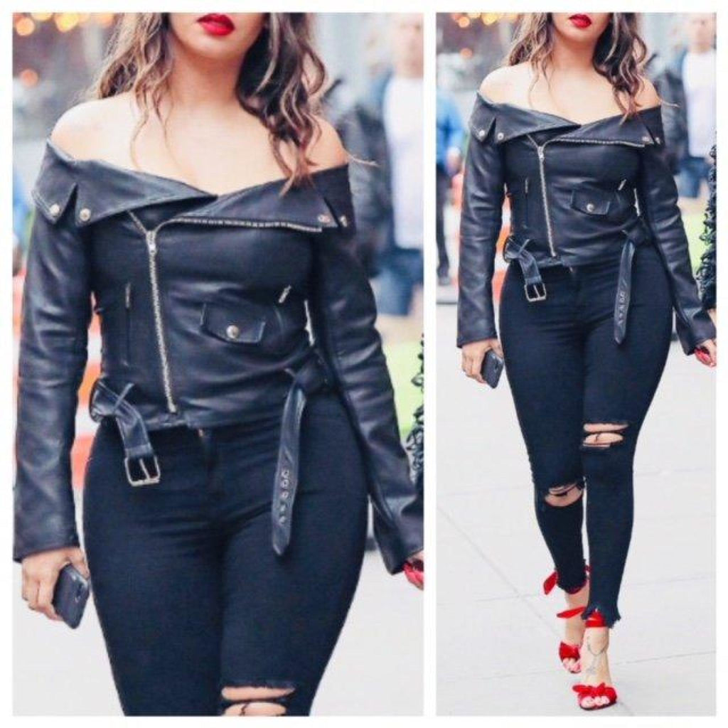 Chaos Vegan Leather Top/Jacket , TOPS, - Closet Envy Boutique, women's fashion