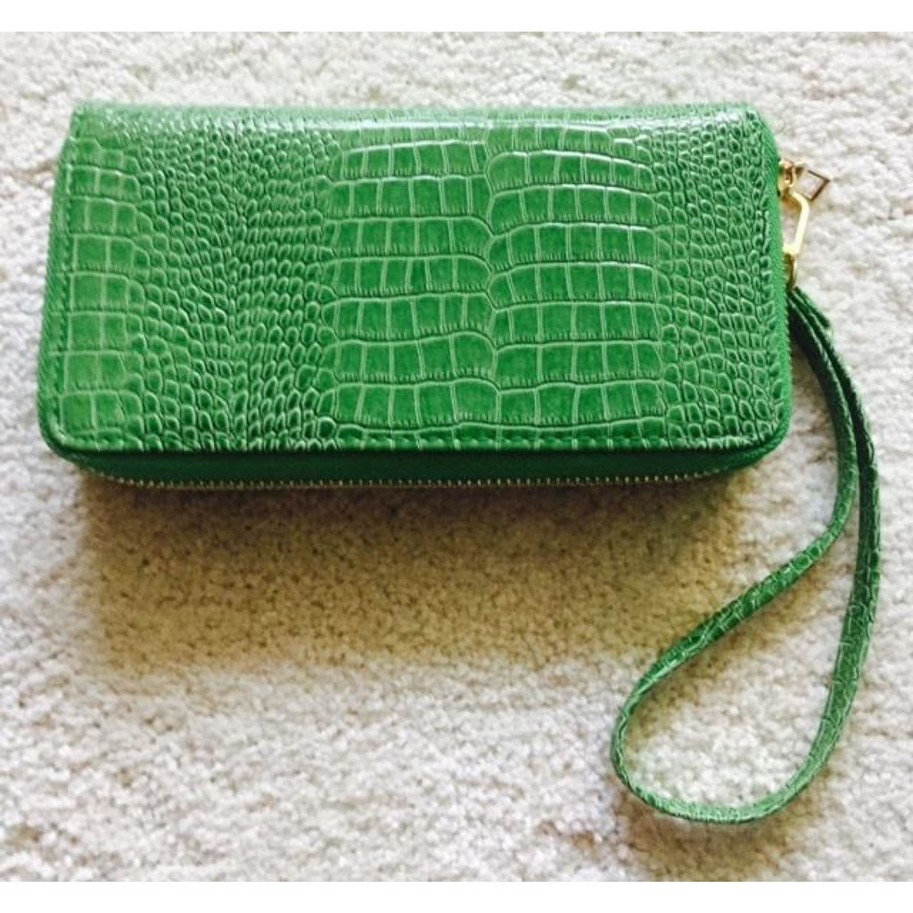 Wristlet Double Zipper Wallet , wallet, - Closet Envy Boutique, women's fashion