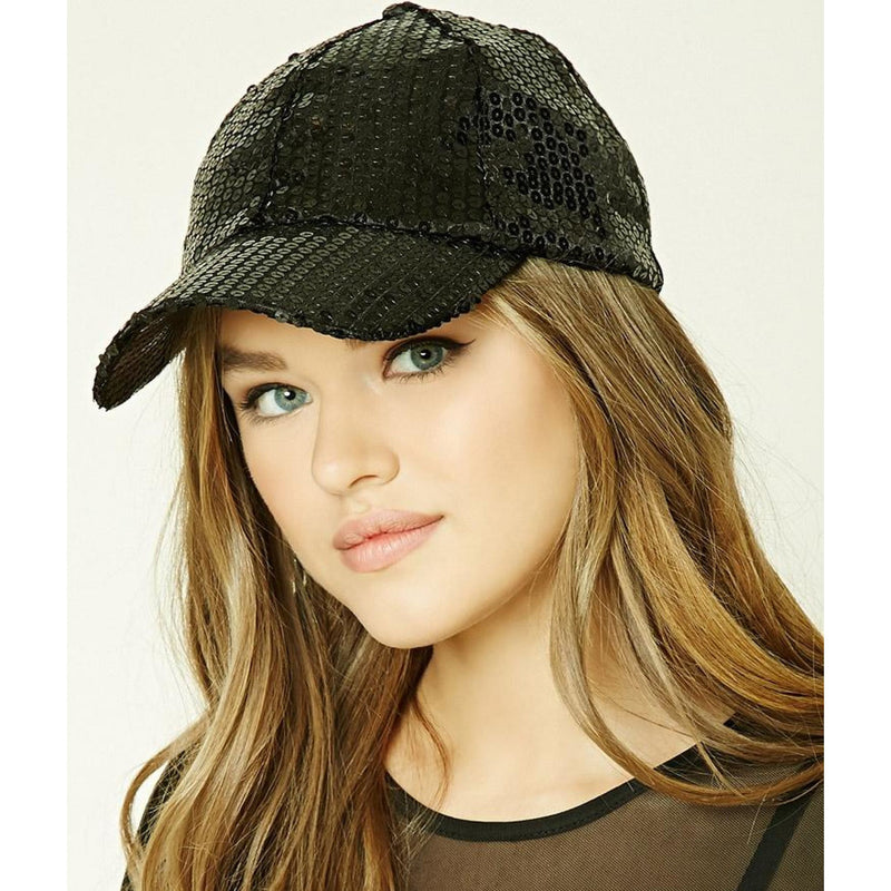 Sequin Cap , hats, - Closet Envy Boutique, women's fashion