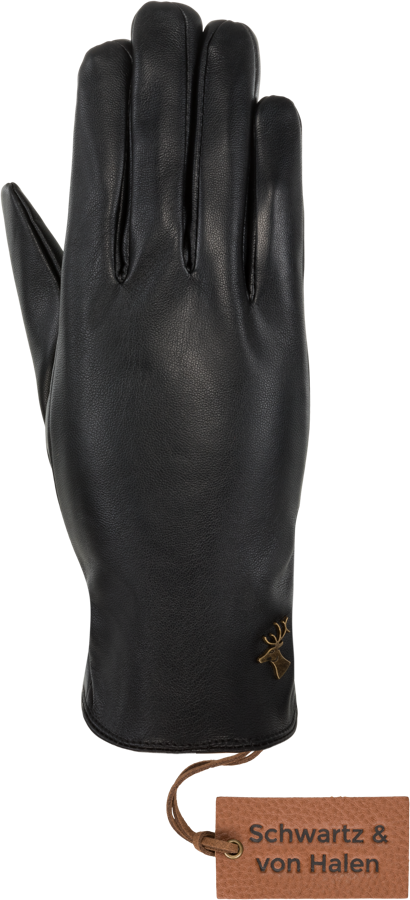Luna (touchscreen) - Vegan Leather Leren Dames Handschoenen - Schwartz & von Halen - 1