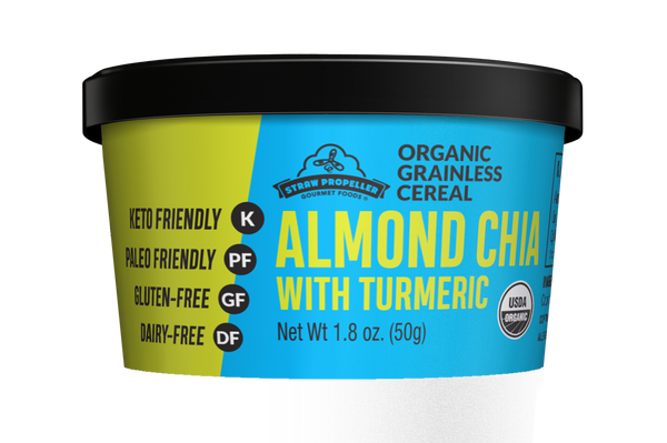 Organic Almond Chia with Turmeric Grainless Cereal
