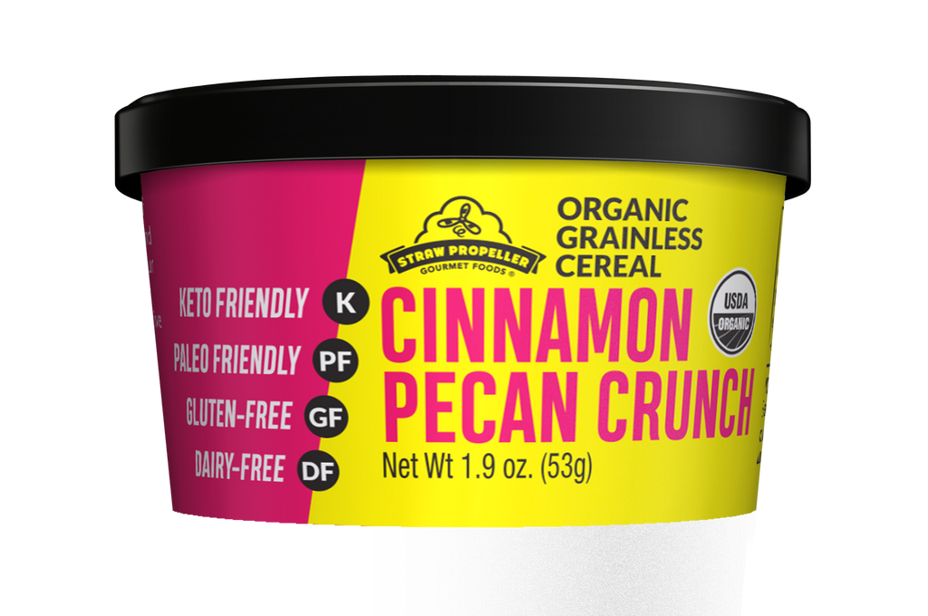 Organic Cinnamon Pecan Crunch Grainless Cereal