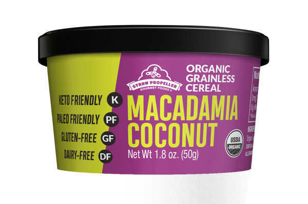 Organic Macadamia Coconut Grainless Cereal