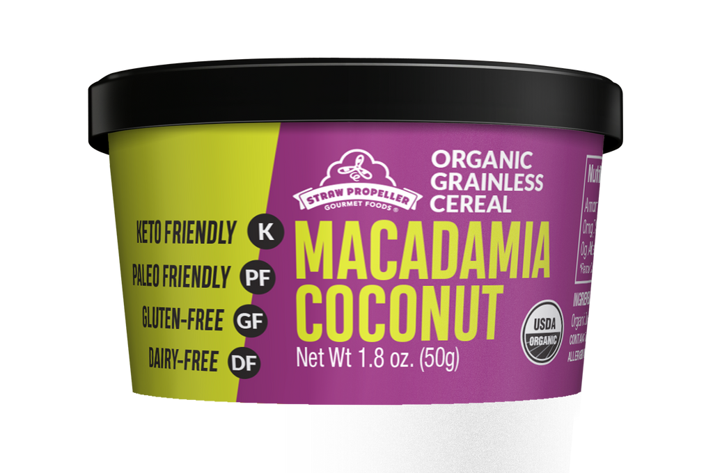 Organic Macadamia Coconut Grainless Cereal-Wholesale