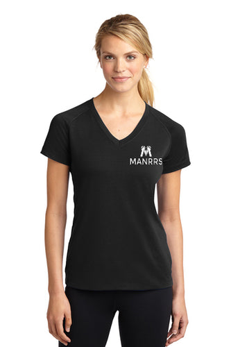 Women Short Sleeve V-Neck Tee