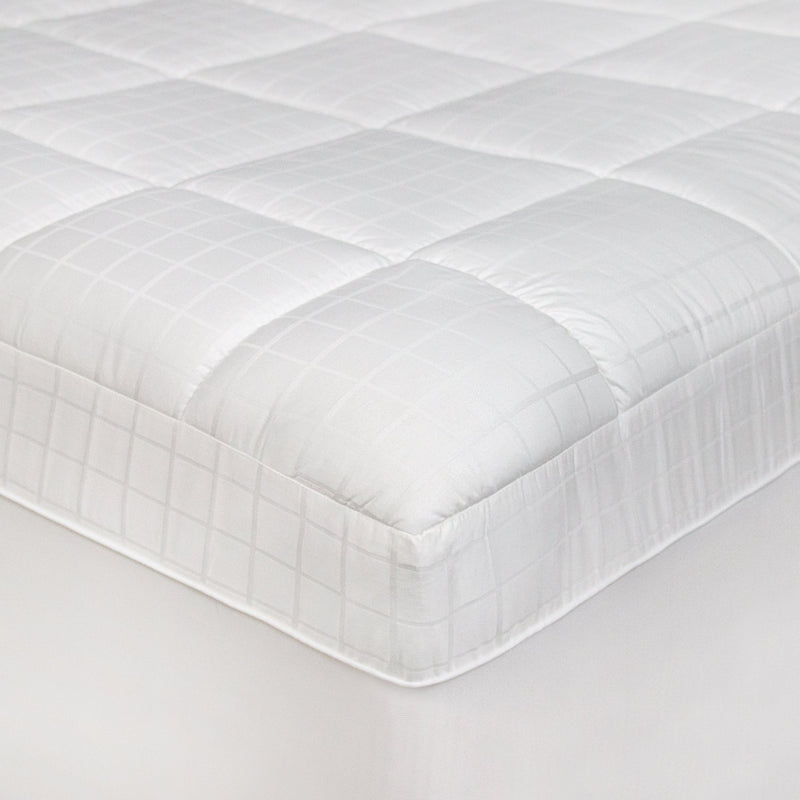 Luxury Euro Top Anti-Microbial Mattress Pad with Repel-A-Tex