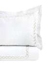 600 Thread Count Rope Embroidered Duvet Set