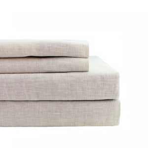 Linen Self Hem Sheet Set