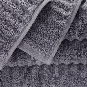 Zero Twist Turkish Ribbed 4 Piece Hand Towel Set