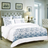 Climbing Rose Embroidered Duvet Set