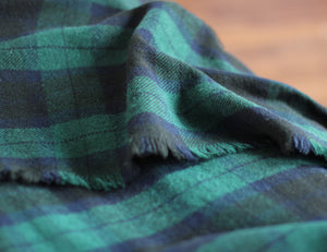 Black Watch Wool Blanket