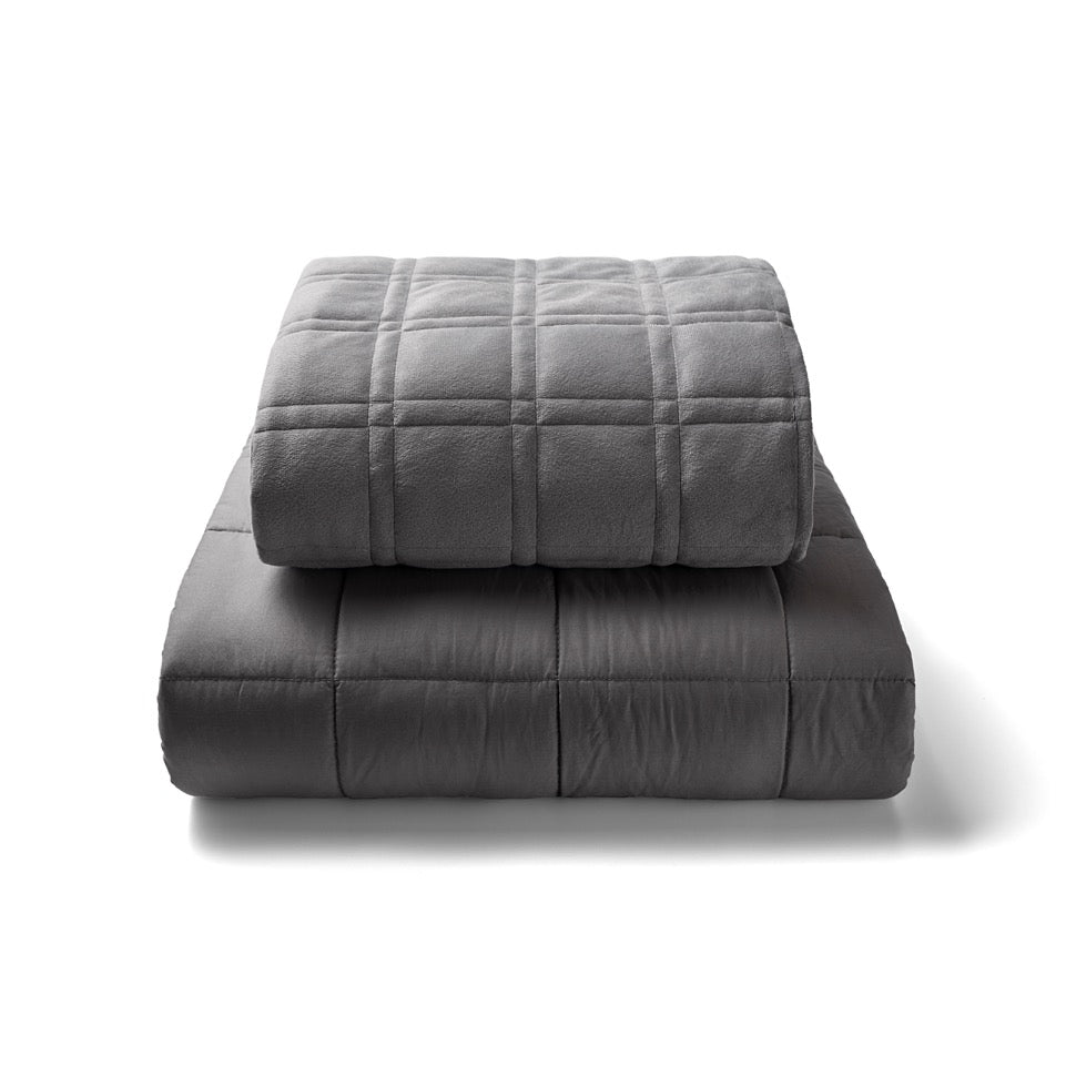 Compression Weighted Blanket With Removable Cover