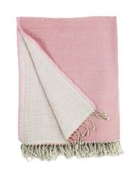 100% Merino Wool Reversible Throw