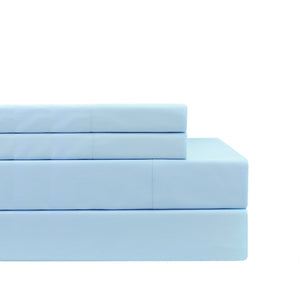 Self Hem Percale Sheet Set