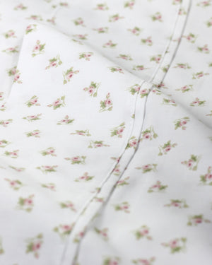 Chic Floral Sheet Set