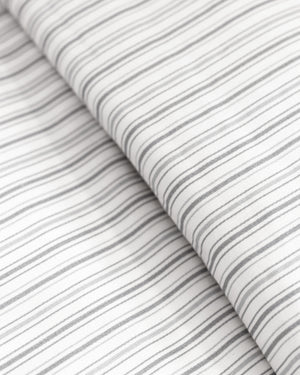 Shirt Stripe Duvet Set