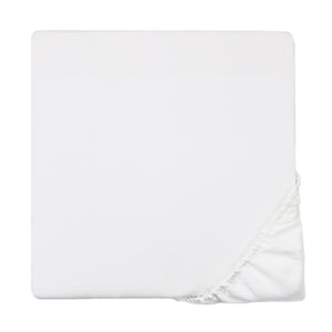 600 Thread Count Sateen Fitted Sheet