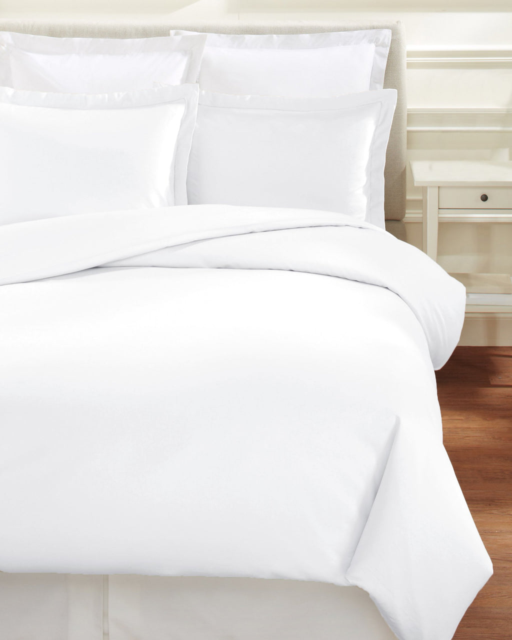 600 Thread Count Hemstitch Duvet Set - TWIN