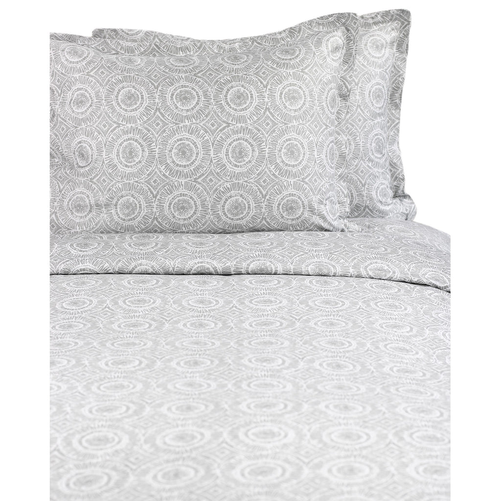 Block Medallion Duvet Set