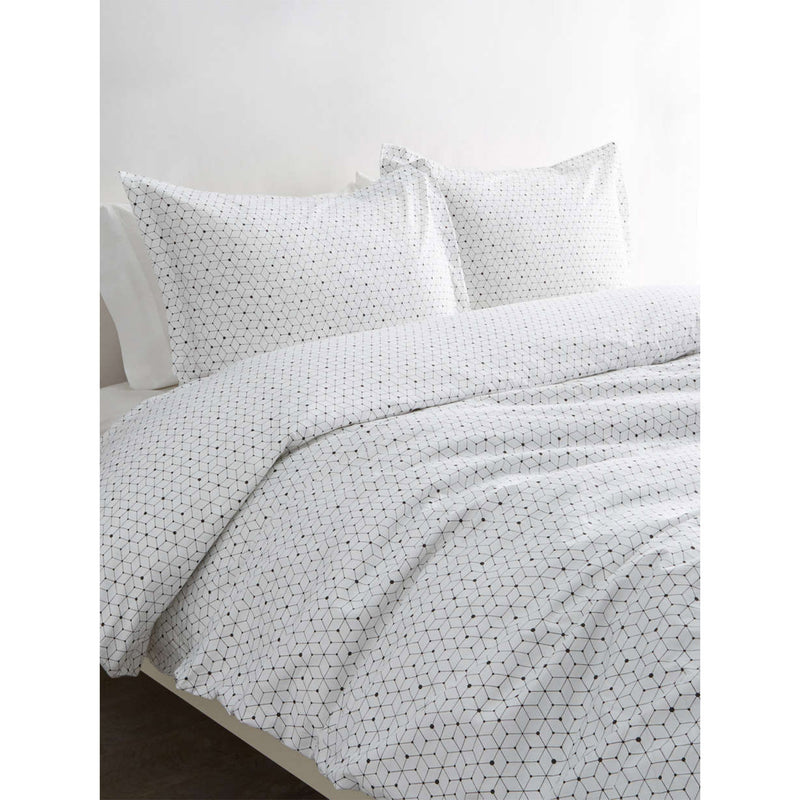 Circle In The Square Duvet Set