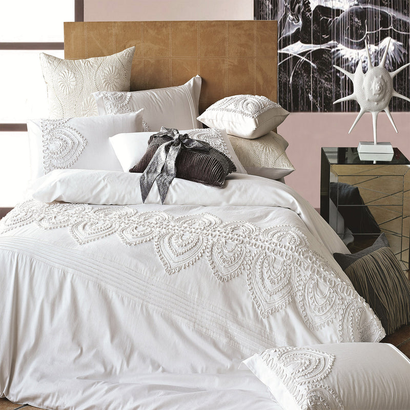 Padma Embroidered Duvet Set