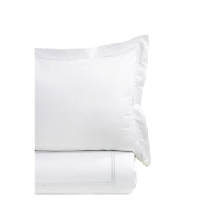 600 Thread Count Border Stripe Embroidered Duvet Set