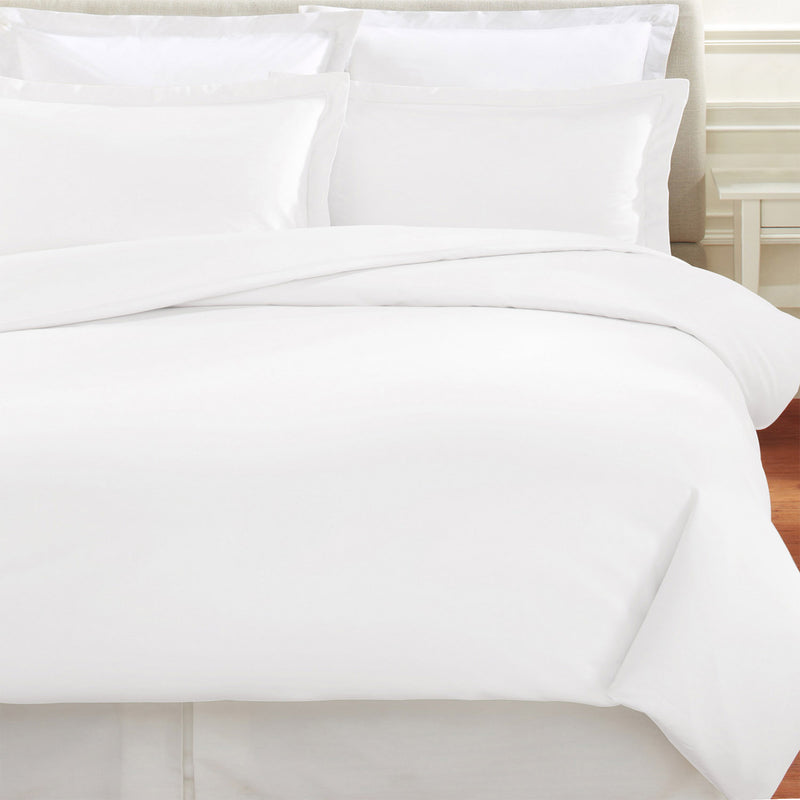 Plain Hem Organic Cotton Duvet Set