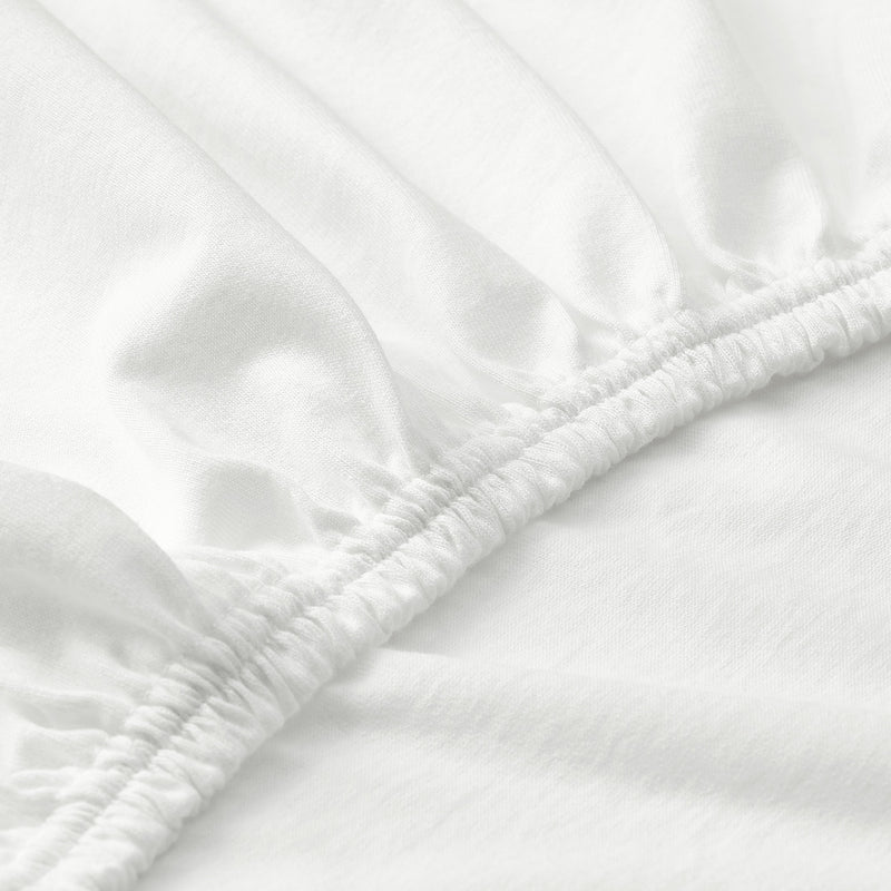 600 Thread Count Hemstitch Fitted Sheet