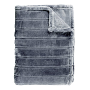 Bliss Velvet Stripe Throw
