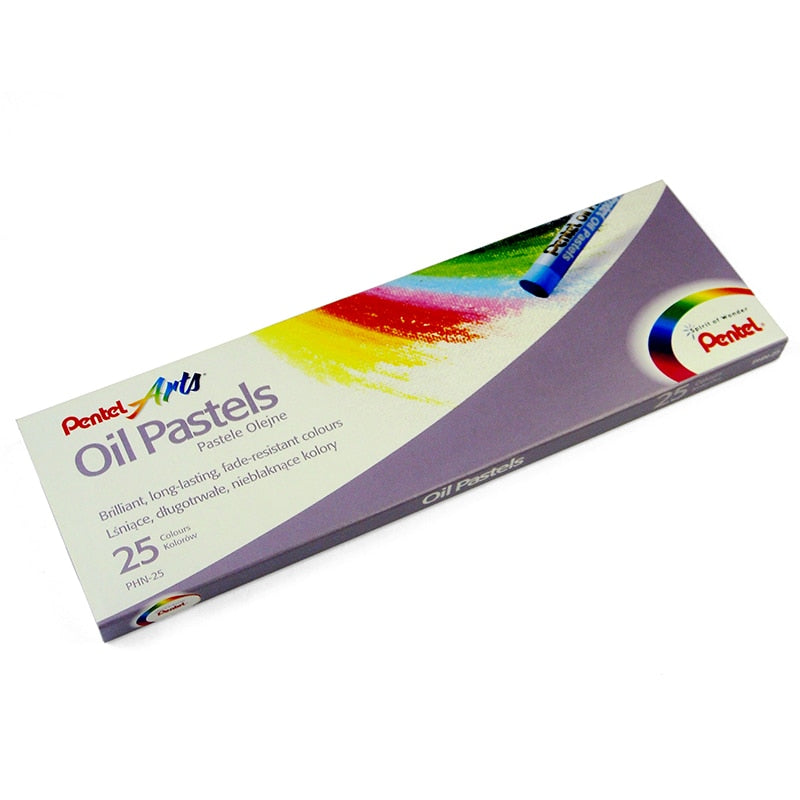 Pentel- Round Shaped Oil Pastel Crayons