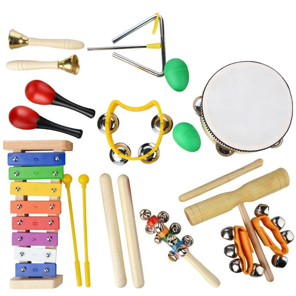 20 Piece Children Musical Instruments Set