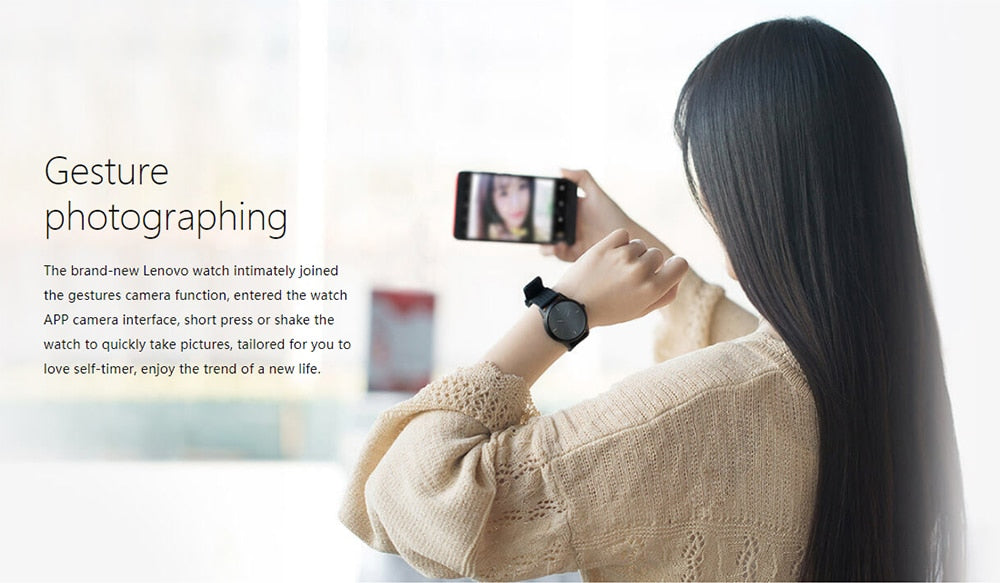 Lenovo Watch 9 Smart Watch for iOS & Android