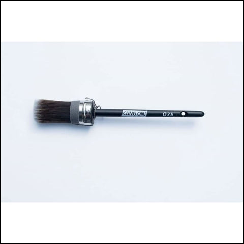 035 Oval Cling On Brush