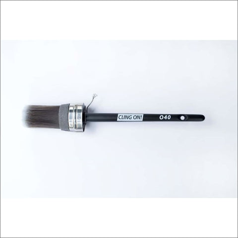 O40 Oval Cling On Brush