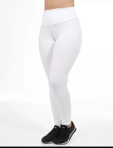 Calça Legging Branca Off White (4742276612141)