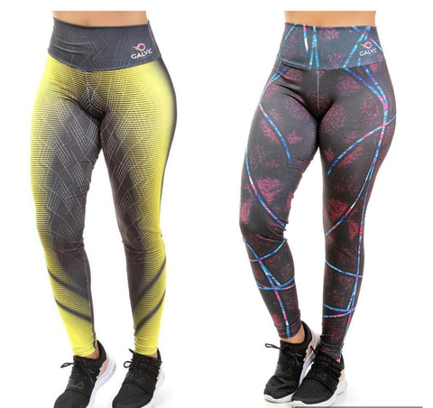 KIT 2 Calças Legging Sublimada (5829226234007)