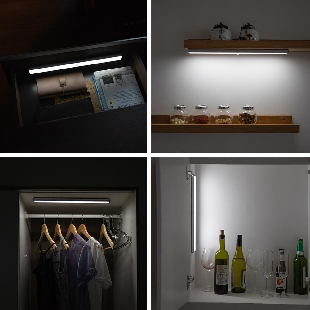 LEPOTEC Wireless Motion Sensor 78-LED Light | Cabinet & Closet Light
