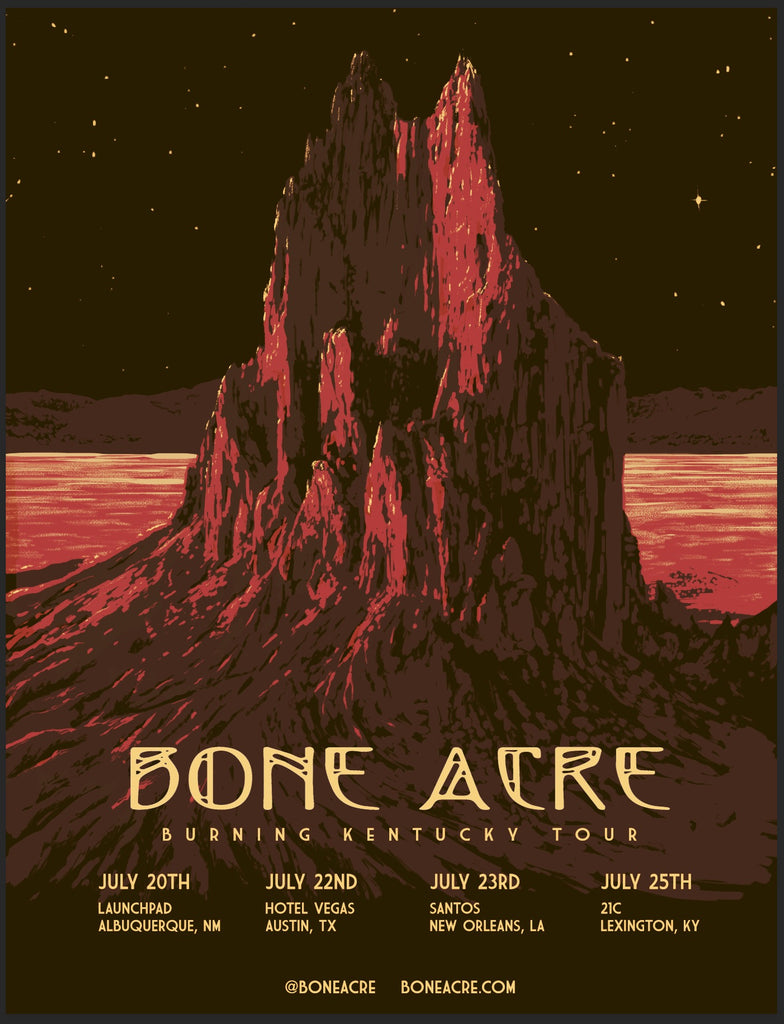 Bone Acre Burning Kentucky Tour
