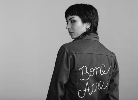 Bone Acre Jean Jacket