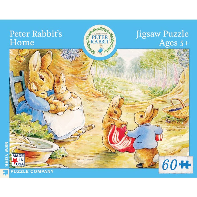 Peter Rabbit's Home Puzzle