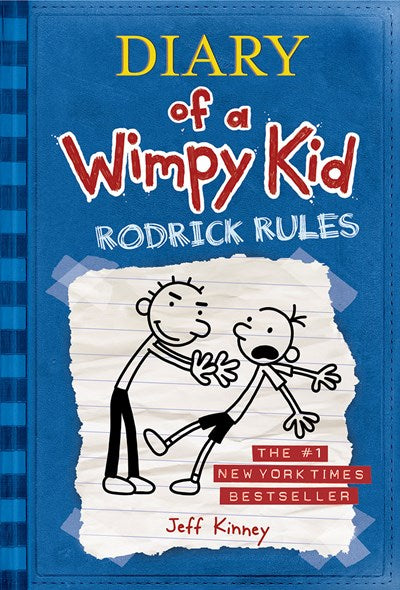 Diary of a Wimpy Kid # 2 - Rodrick Rules ( Diary of a Wimpy Kid #02 )