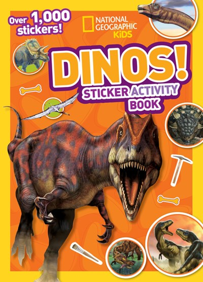 Dinos Sticker Activity Book [With Sticker(s)] ( National Geographic Kids )
