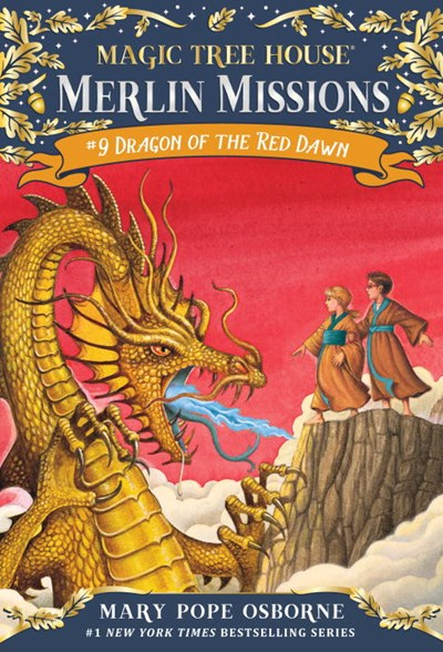 Dragon of the Red Dawn (Merlin Missions #09 )