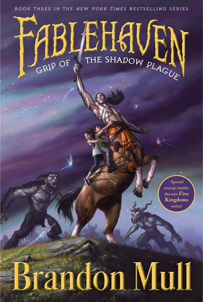 Grip of the Shadow Plague ( Fablehaven #03 )