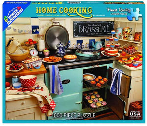 Home Cooking - 1000 Piece Jigsaw Puzzle