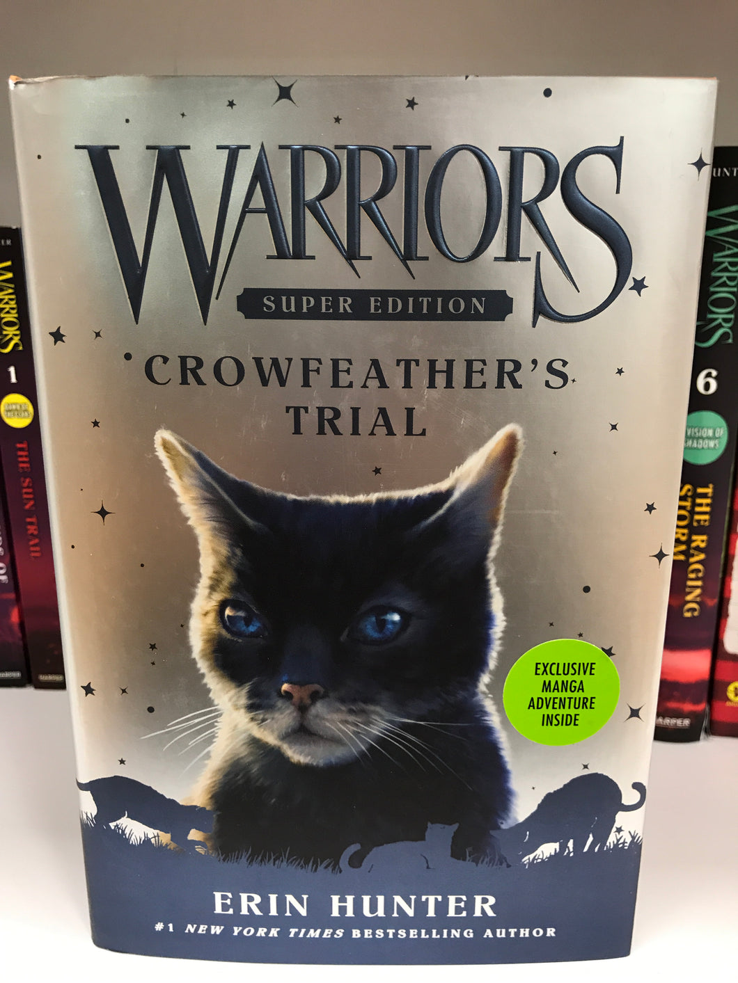 Warriors - Crowfeather's Trial by Erin Hunter