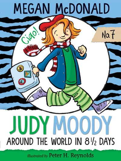Judy Moody: Around the World in 8 1/2 Days ( Judy Moody #7 )